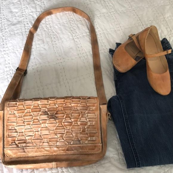 872b27529e83 Bed Stu Handbags - BedStu ARUBA leather crosbody bag purse Tan Rustic